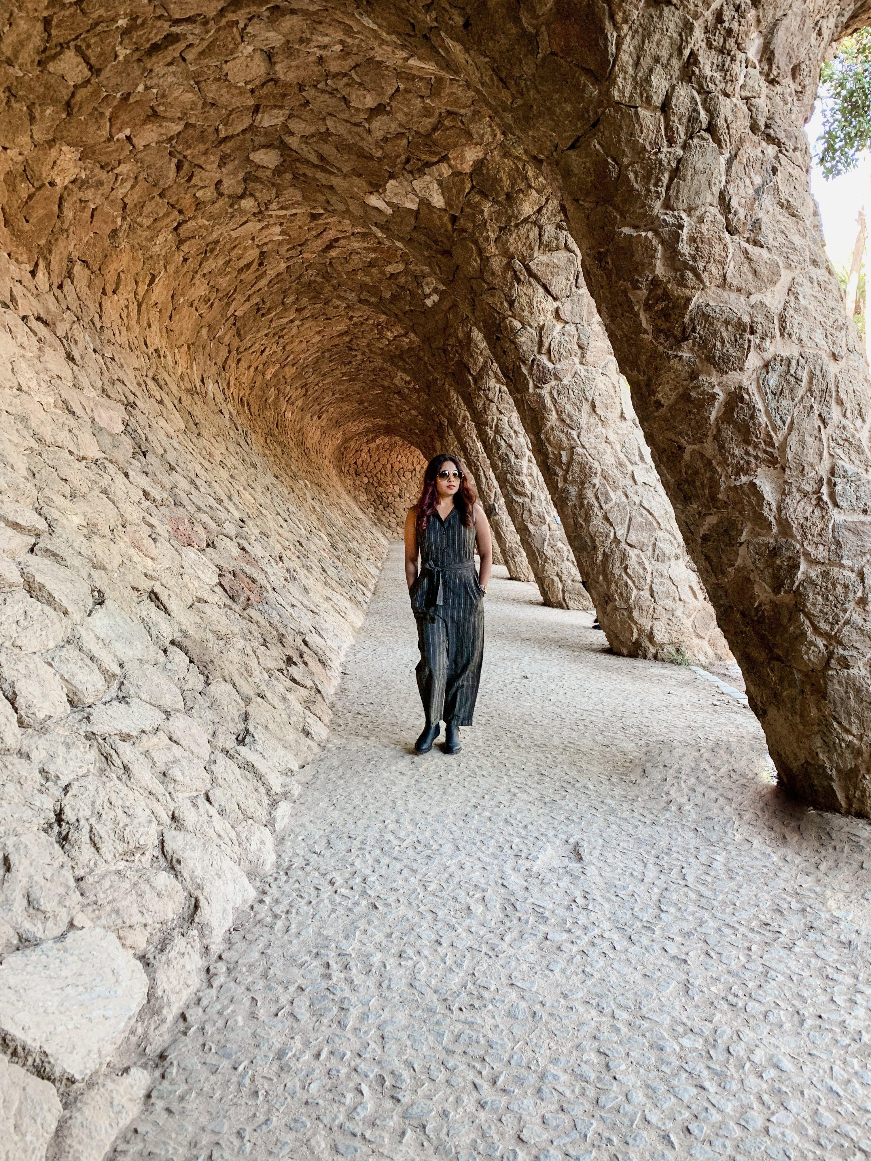 Park Guell Pillars