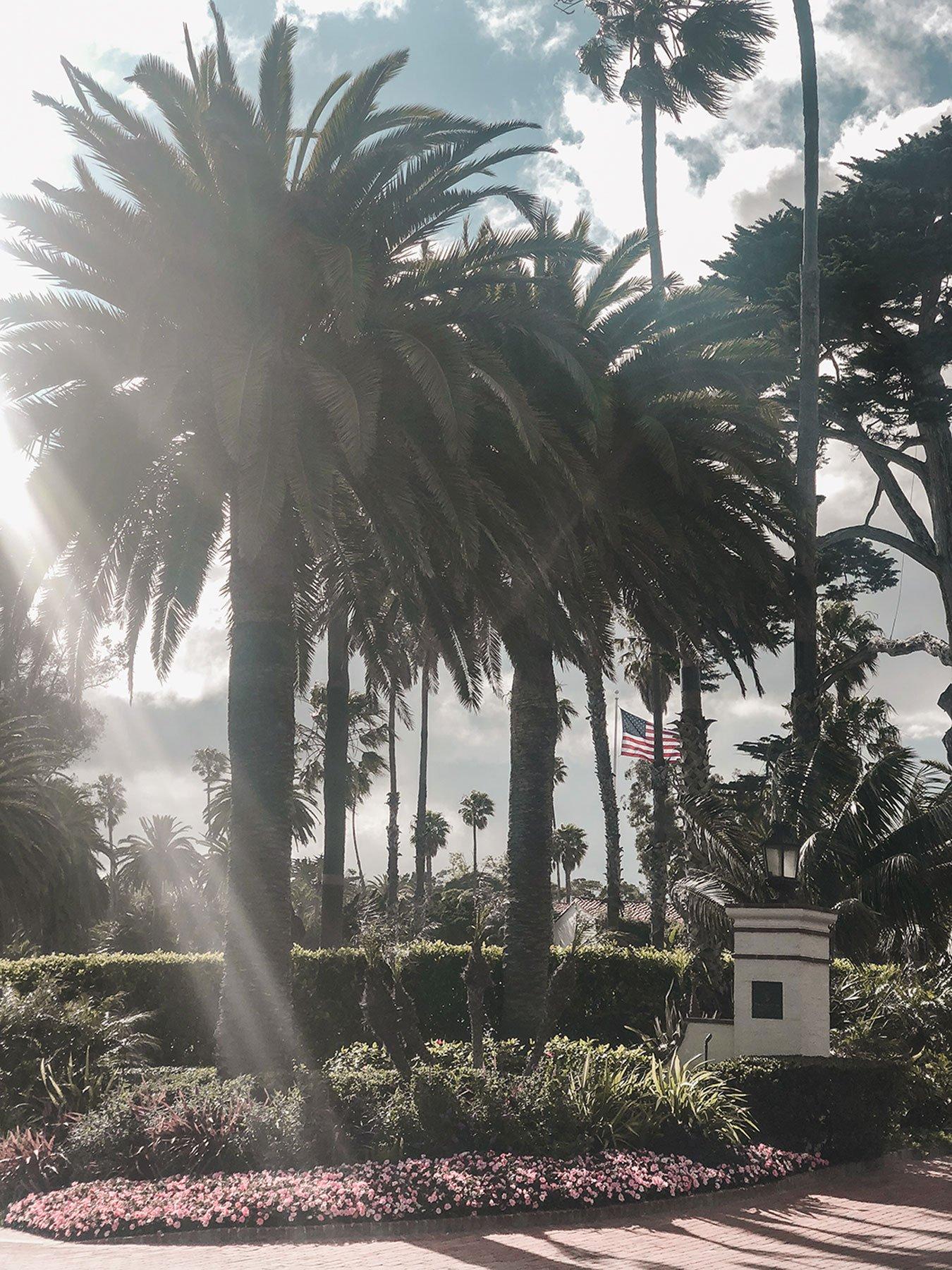 Four Seasons Santa Barbara Entrance