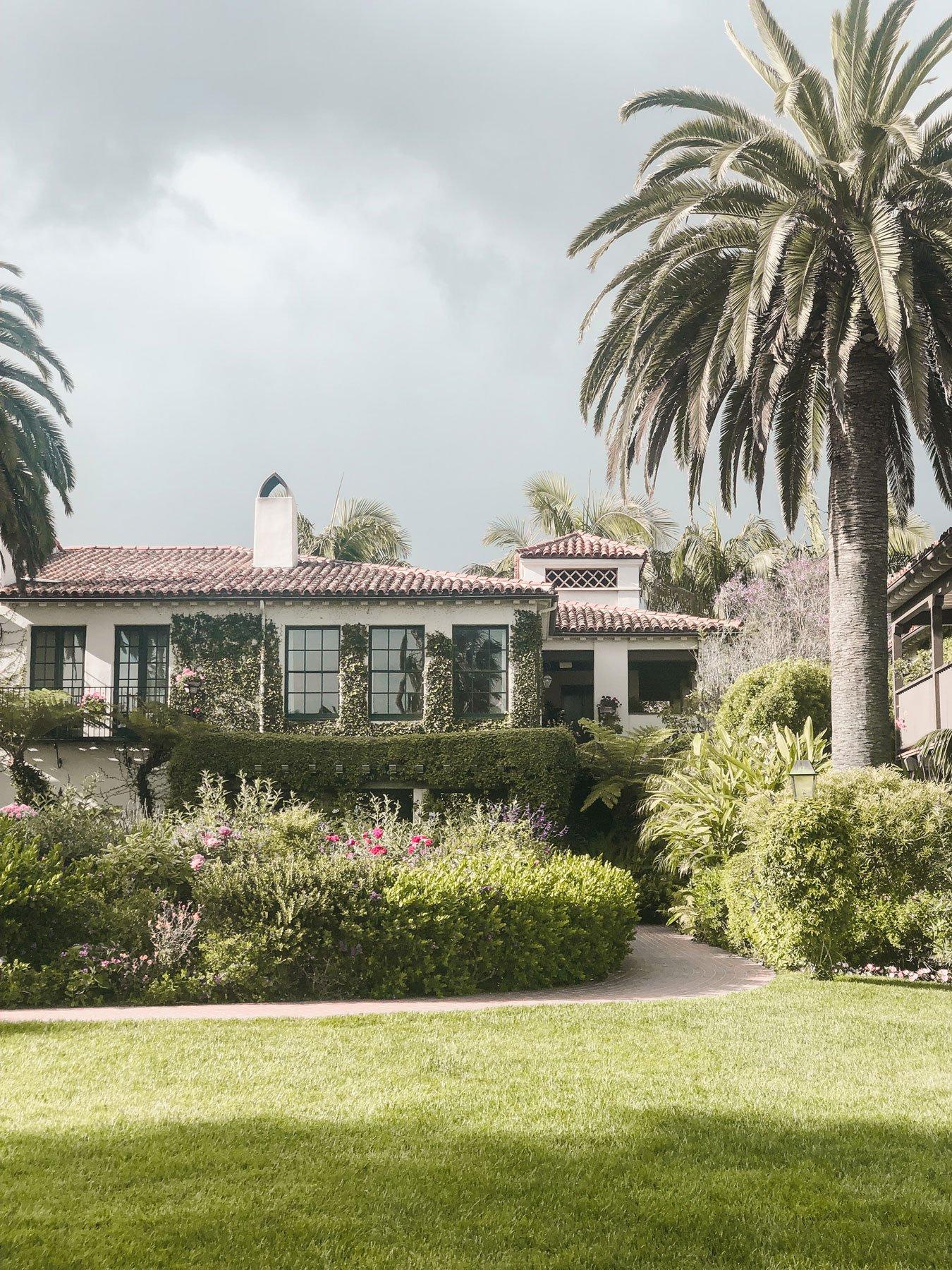 Four Seasons Santa Barbara grounds