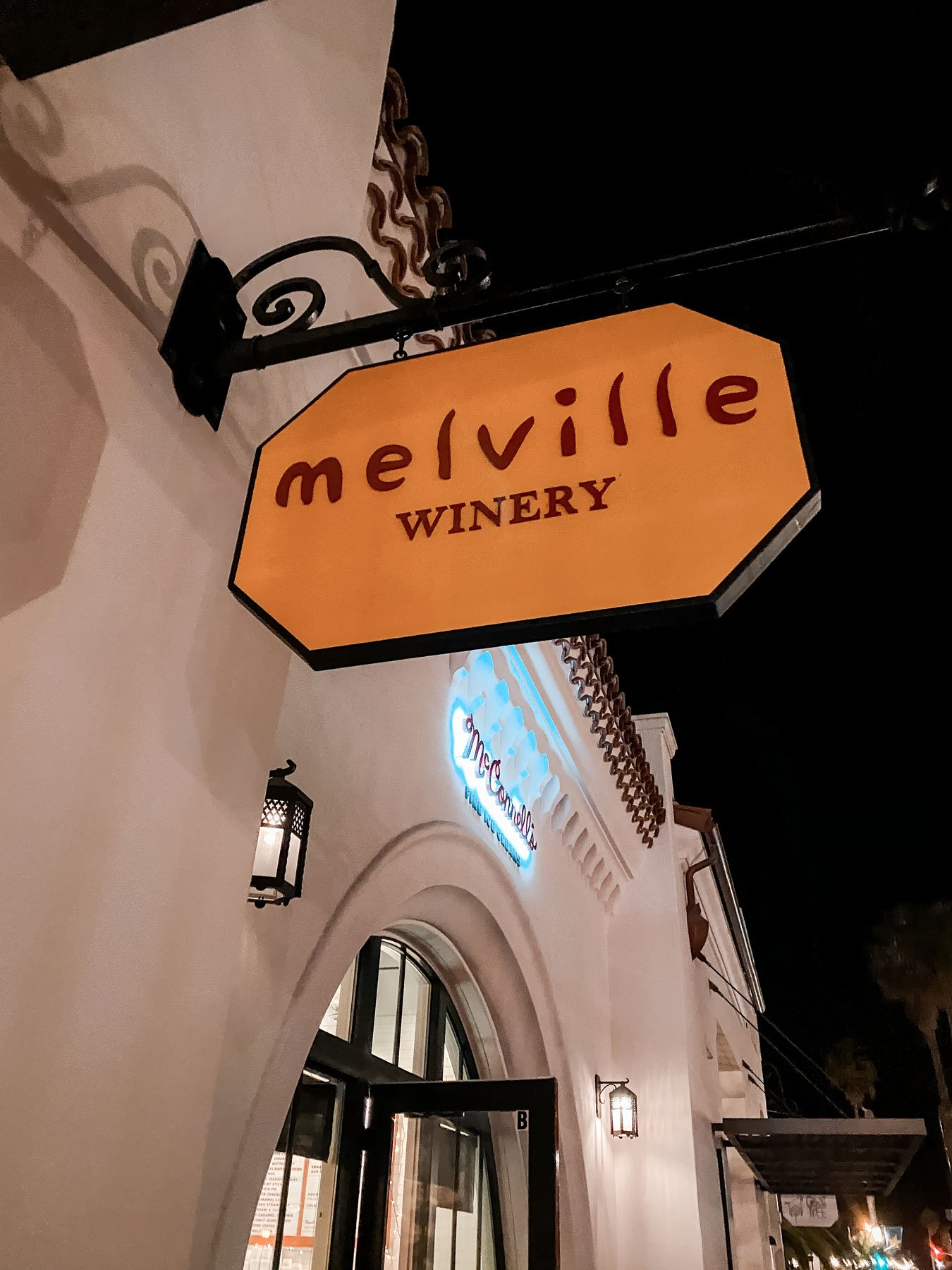 Melville winery tasting room Santa Barbara