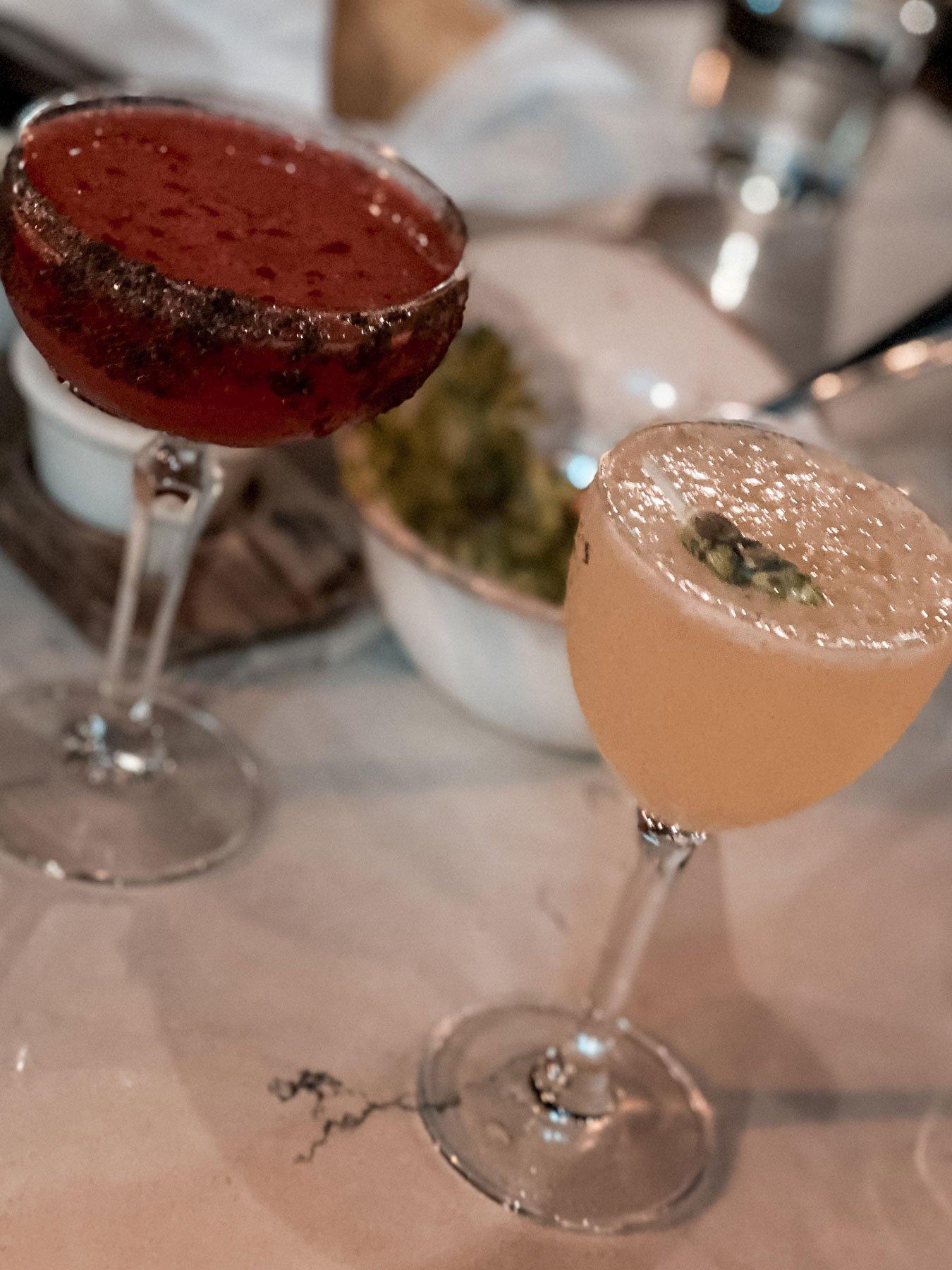 Mezcal cocktails at Santo Mezcal Santa Barbara