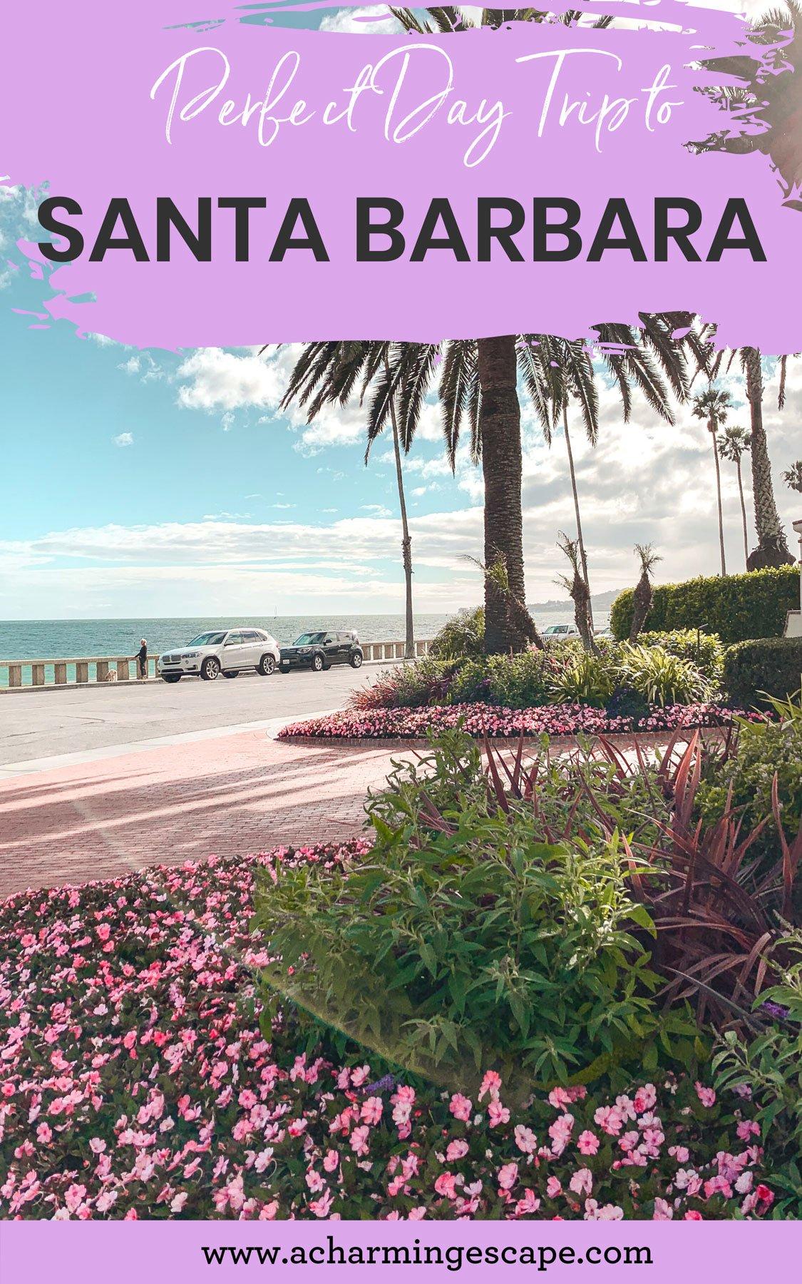 Santa Barbara Four seasons entrance Pin
