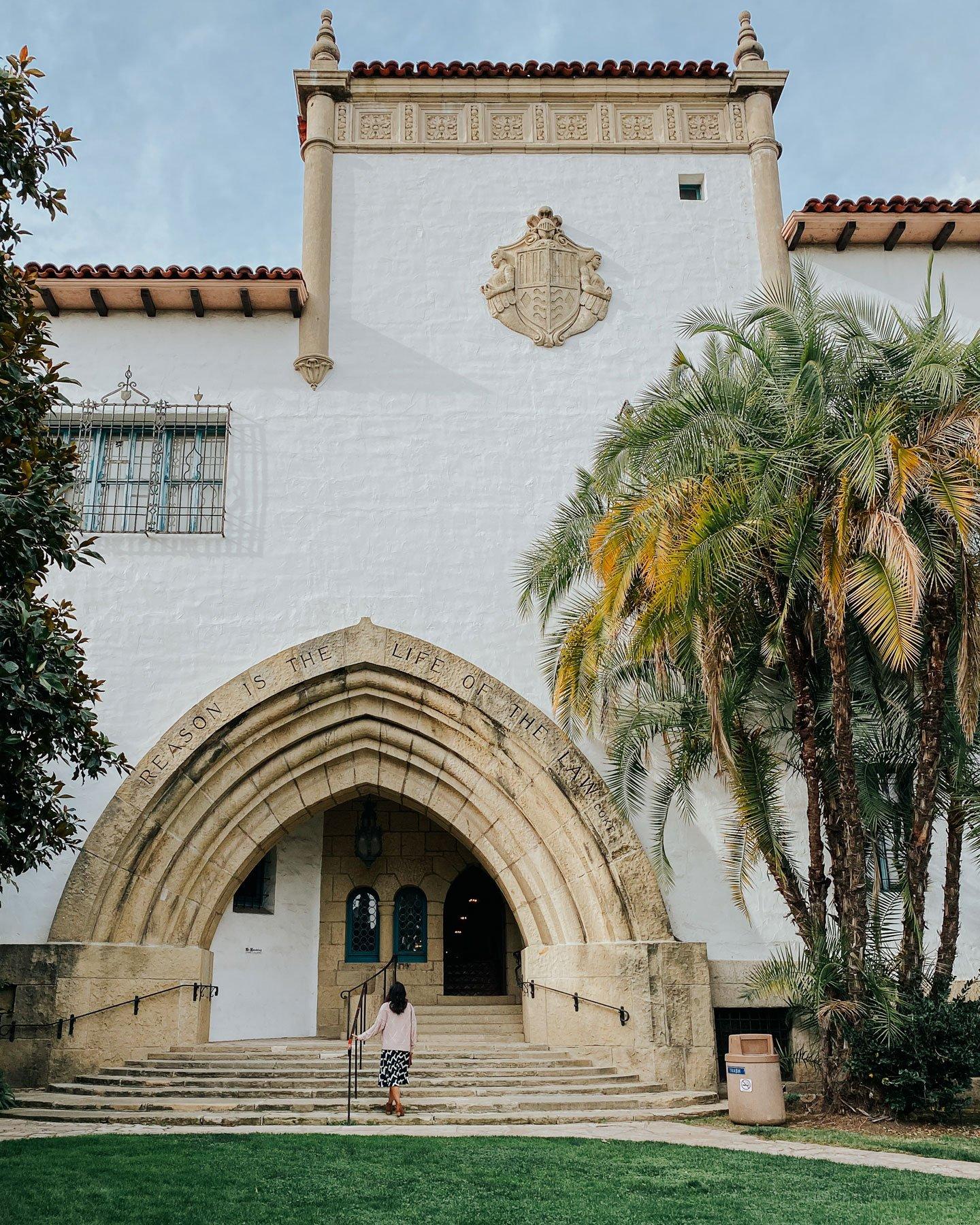 Santa Barbara Courthouse backside