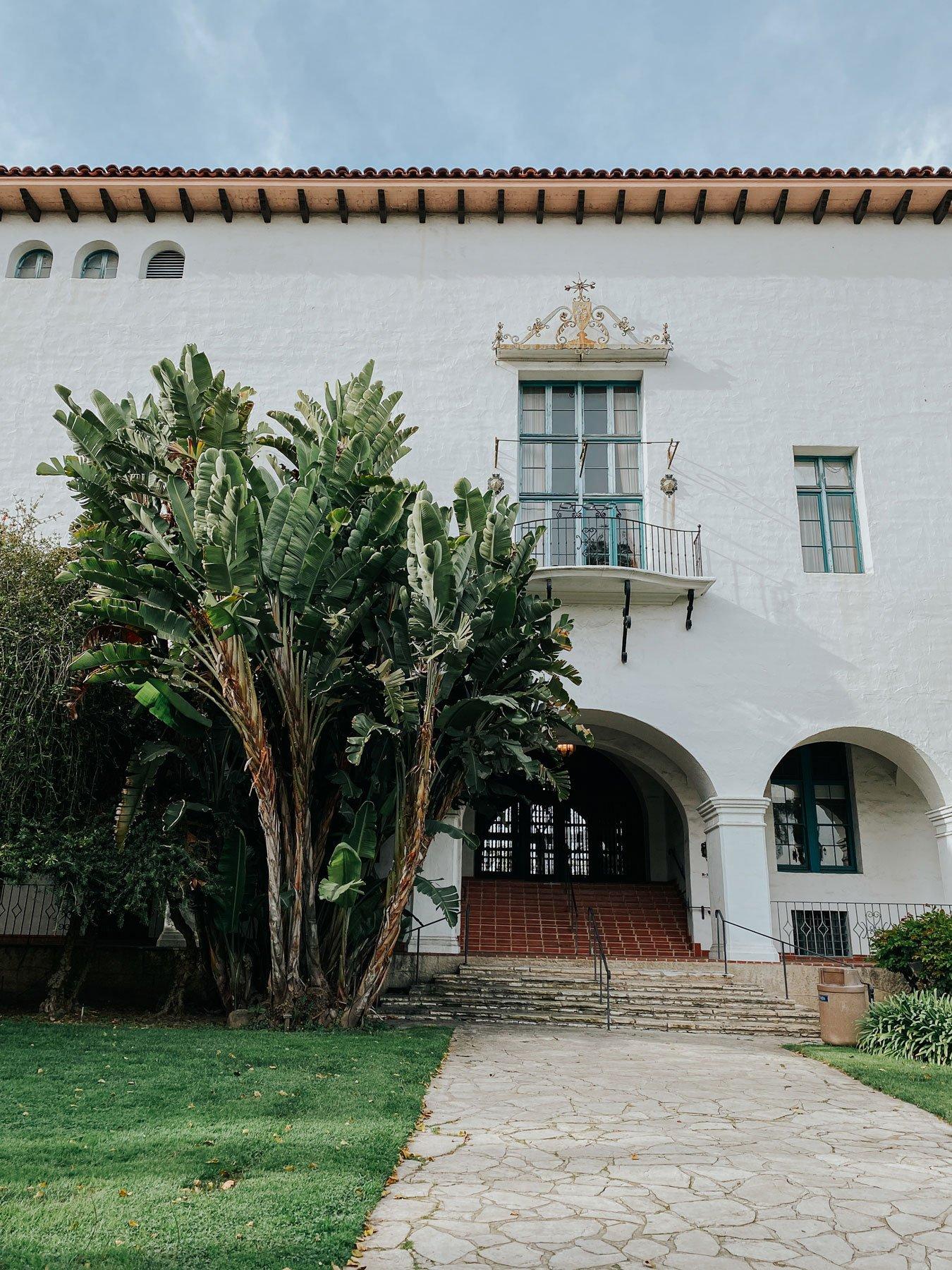 Santa Barbara courthouse gardens