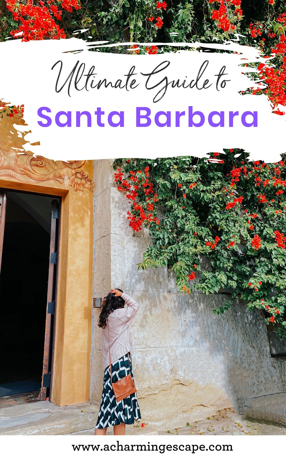Santa Barbara Courthouse Pinterest Graphic