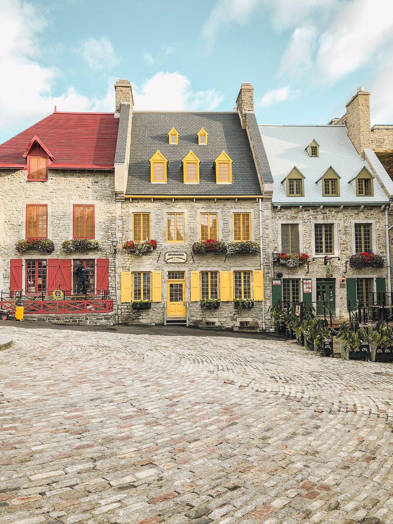 Beautiful Place Royale Quebec City
