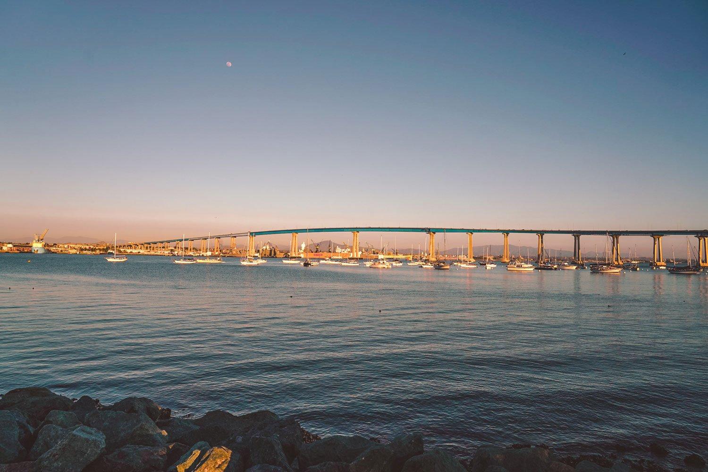 Coronado Island bridge San Diego