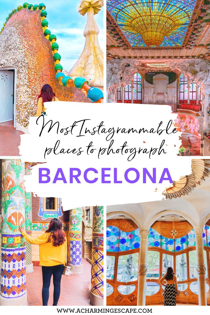 Most Instagrammable places in Barcelona and best photo spots