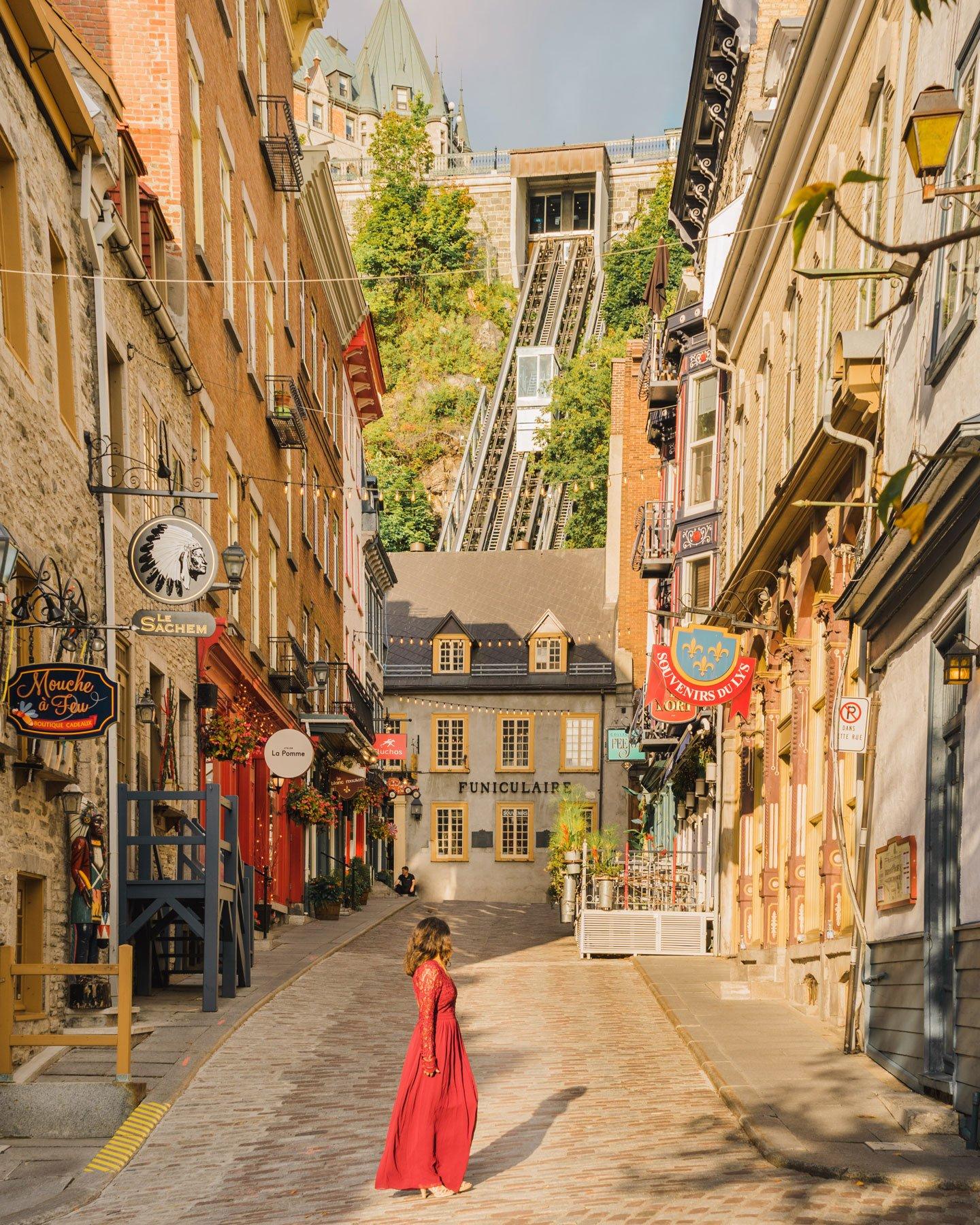 Quartier petit Champlain Quebec City