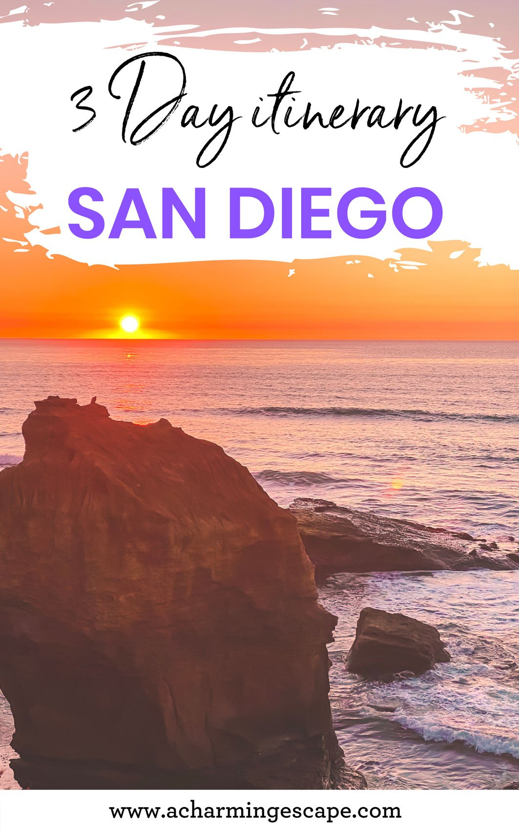 3 days in San Diego itinerary