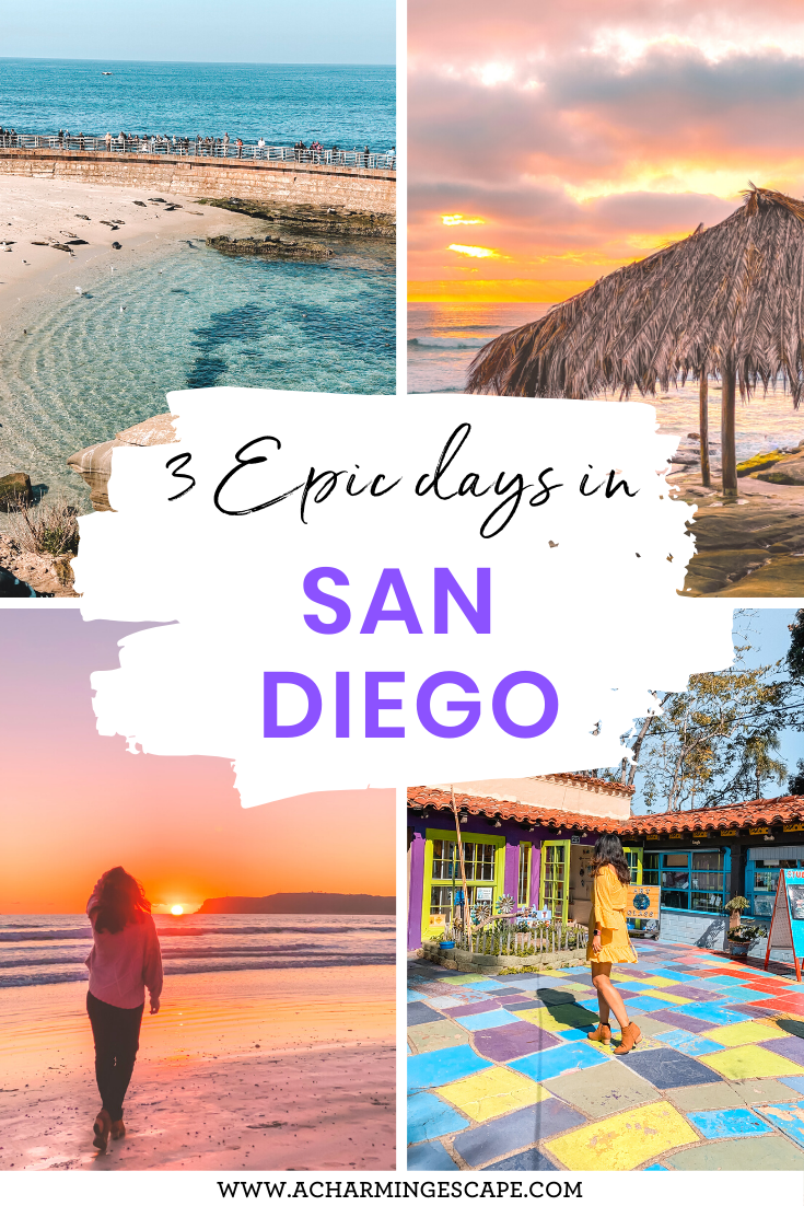 3 day itinerary San Diego
