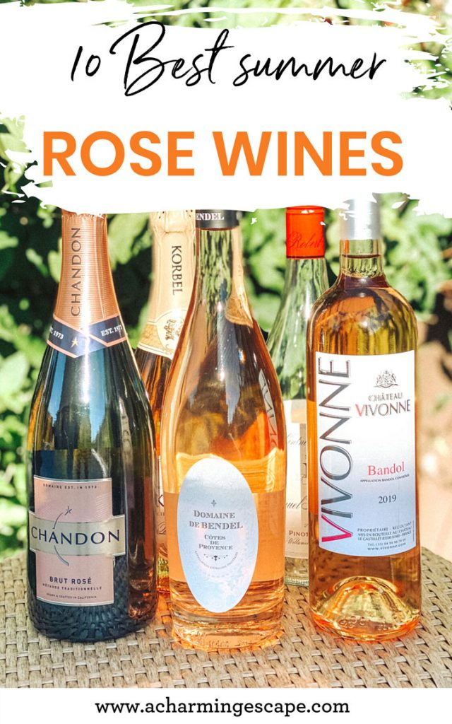 10 best summer rosé wines
