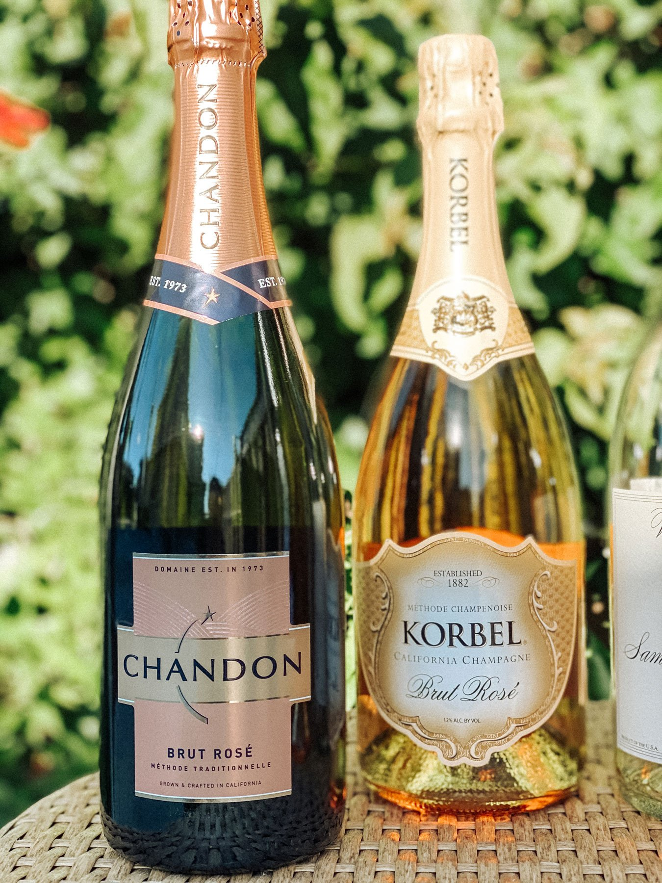 California sparkling rosé wines