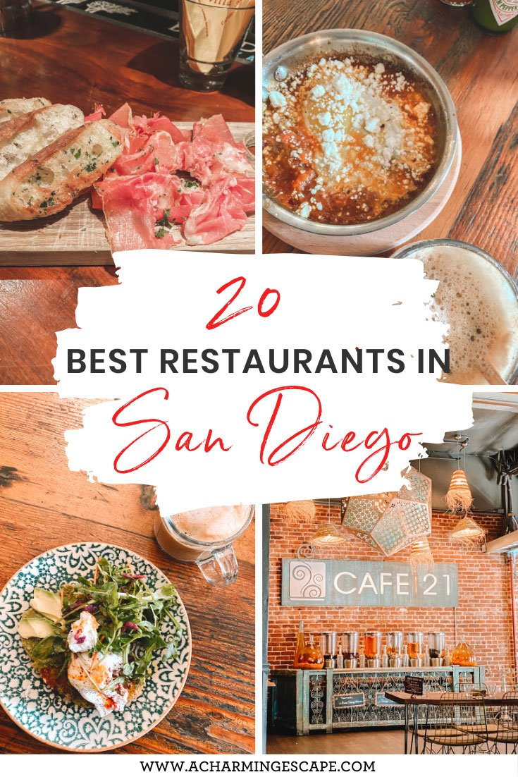 20 best restaurants and bars San Diego