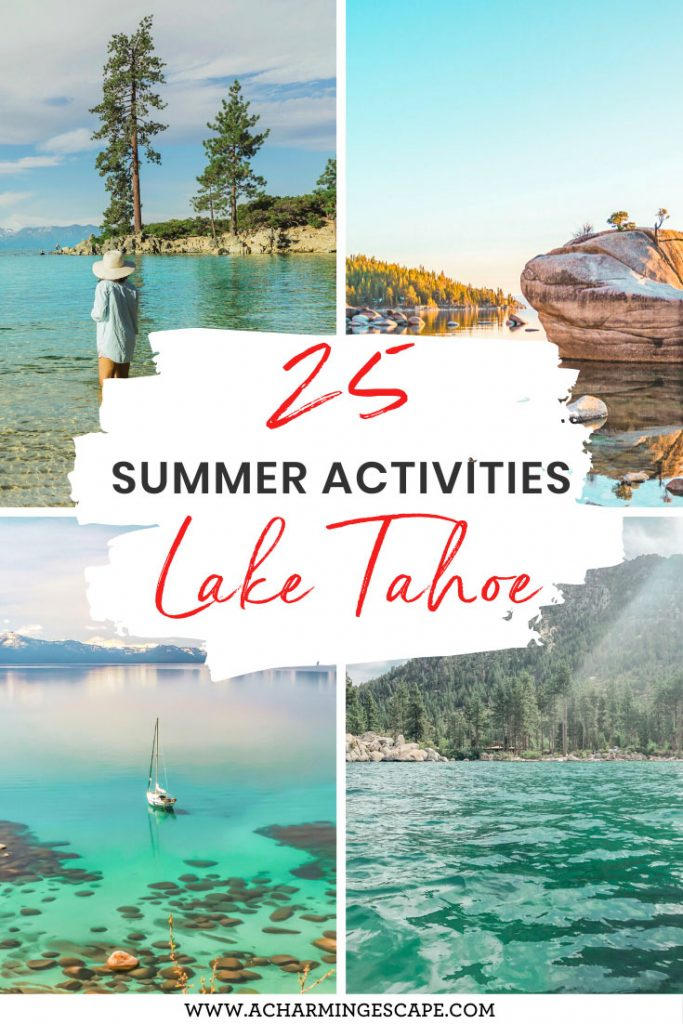 25 summer activities, Lake Tahoe