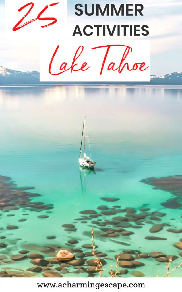 25 incredible things to do in Lake Tahoe in summer