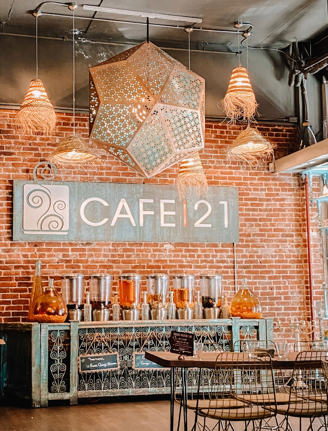 Cafe21, Gaslamp, San Diego