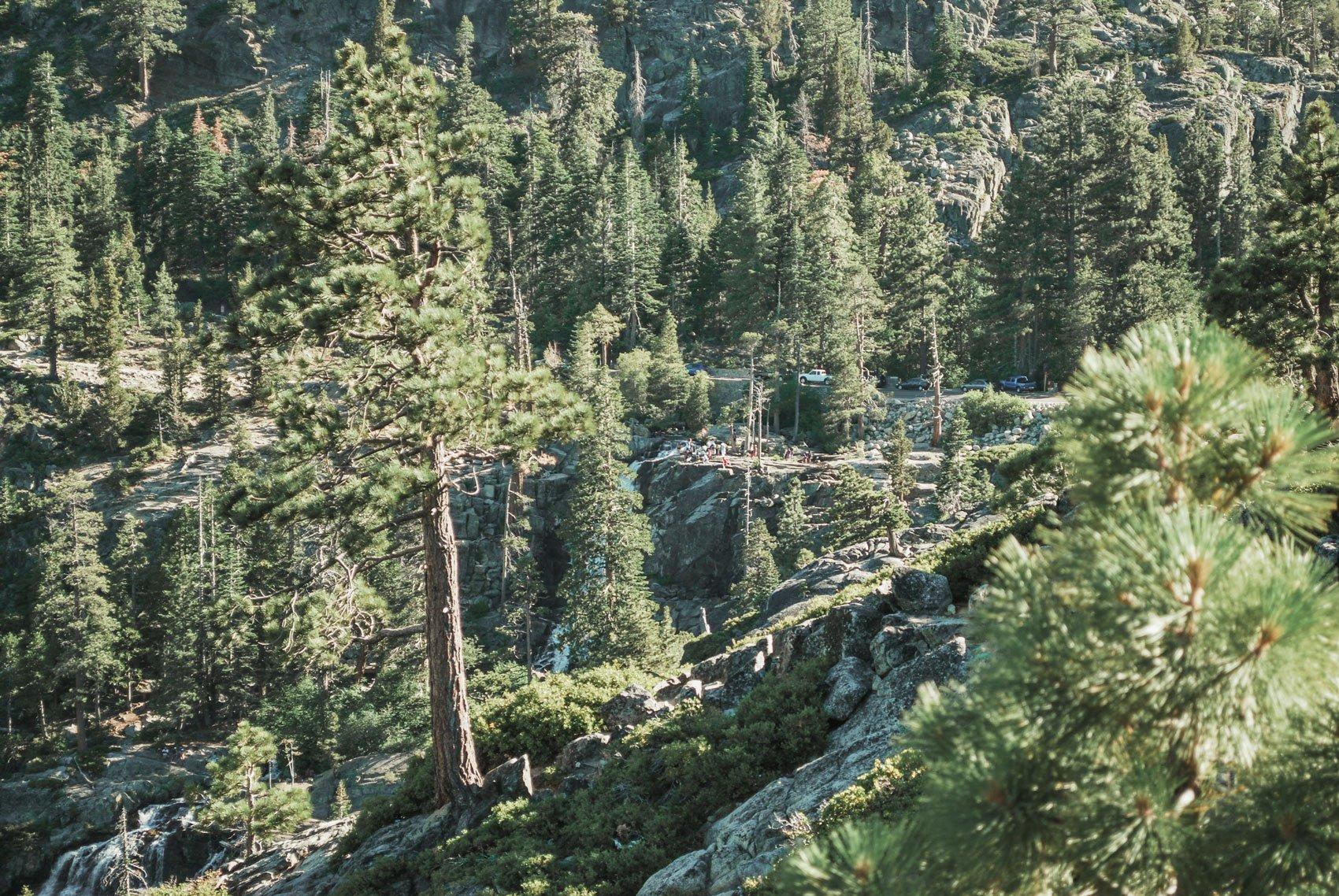 Cascade falls, Emerald Bay