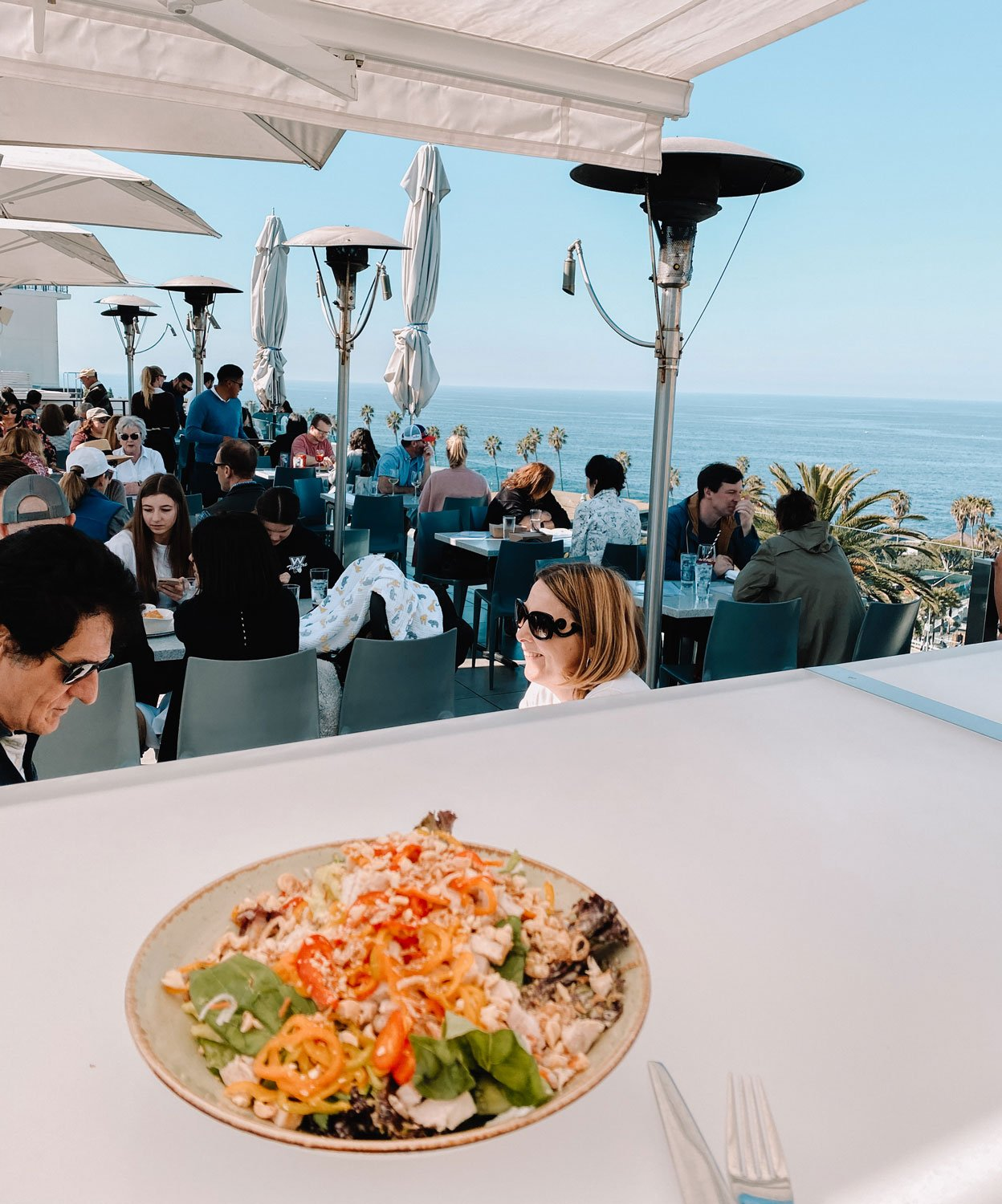 Food and views, George's at the Cove, La Jolla
