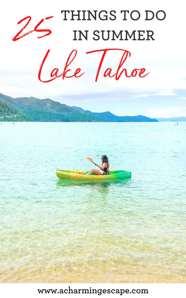 What to do in Lake Tahoe in summer