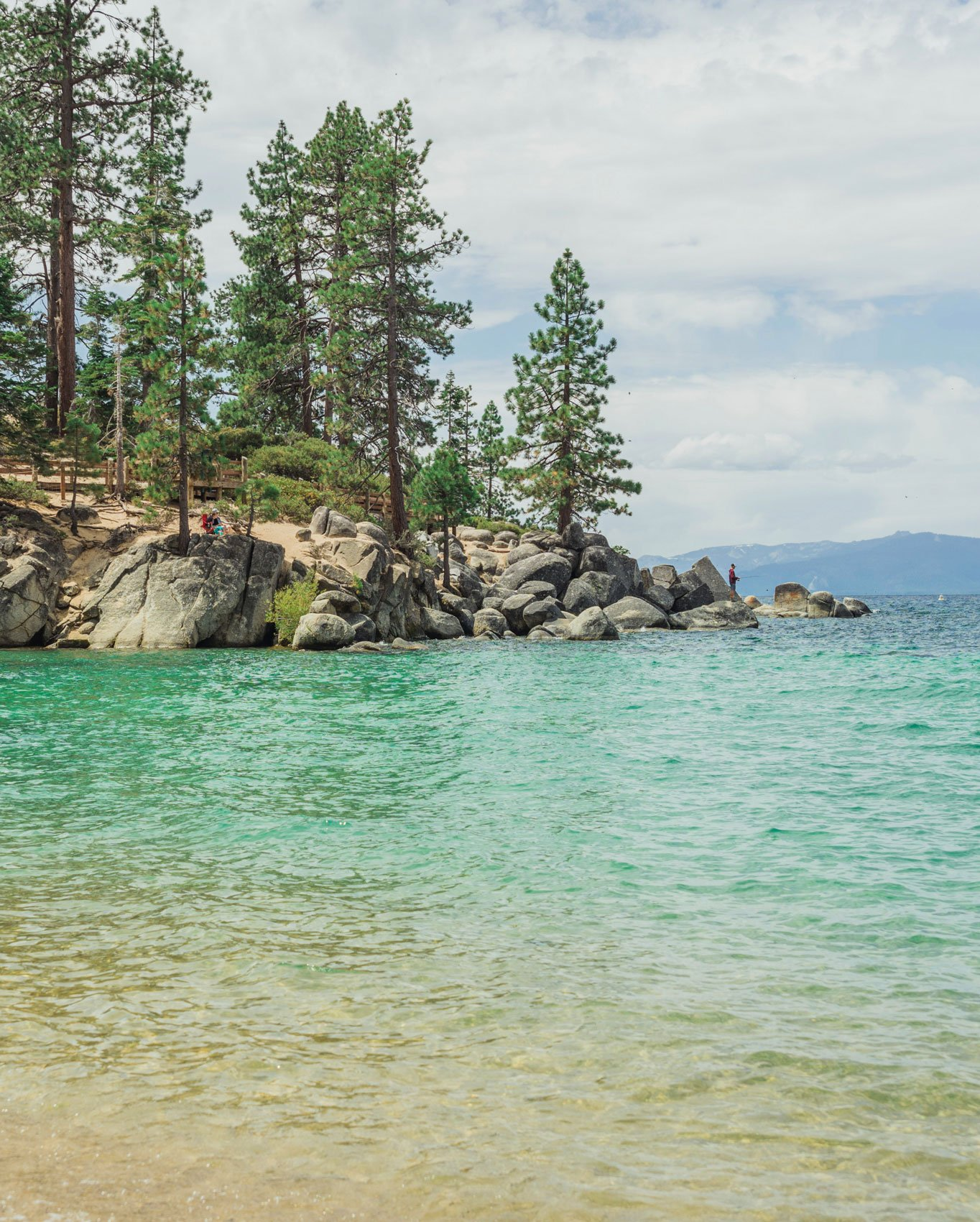 Sand Harbor beach, Nevada