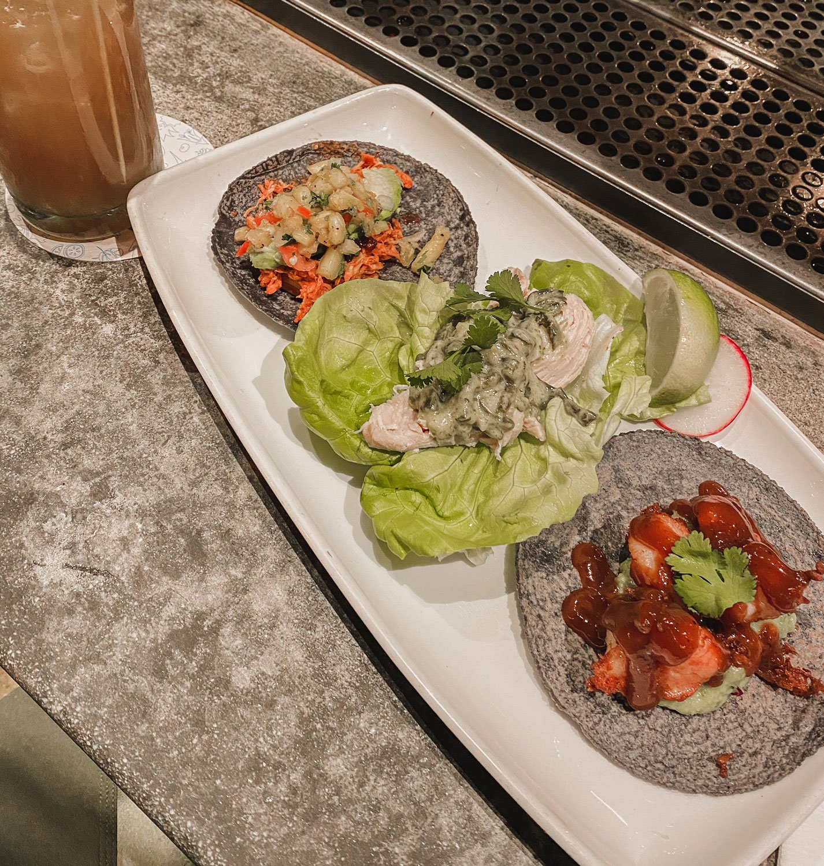 Tacos at Puesta, La Jolla