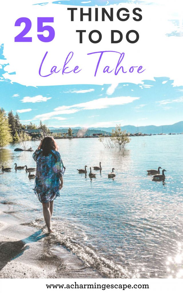 25 things to do in summer, Lake Tahoe