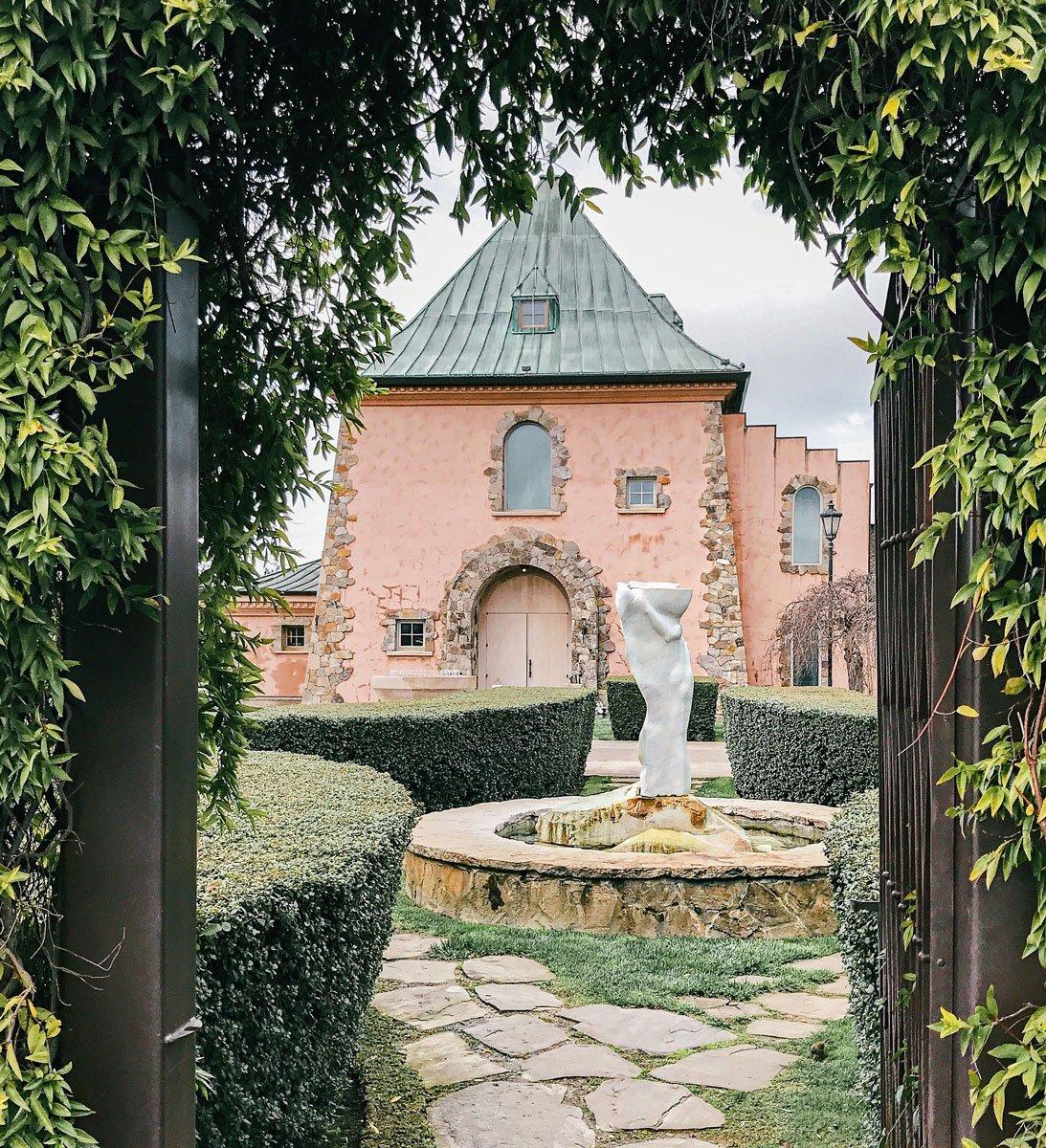 Peju Winery entrance, Napa