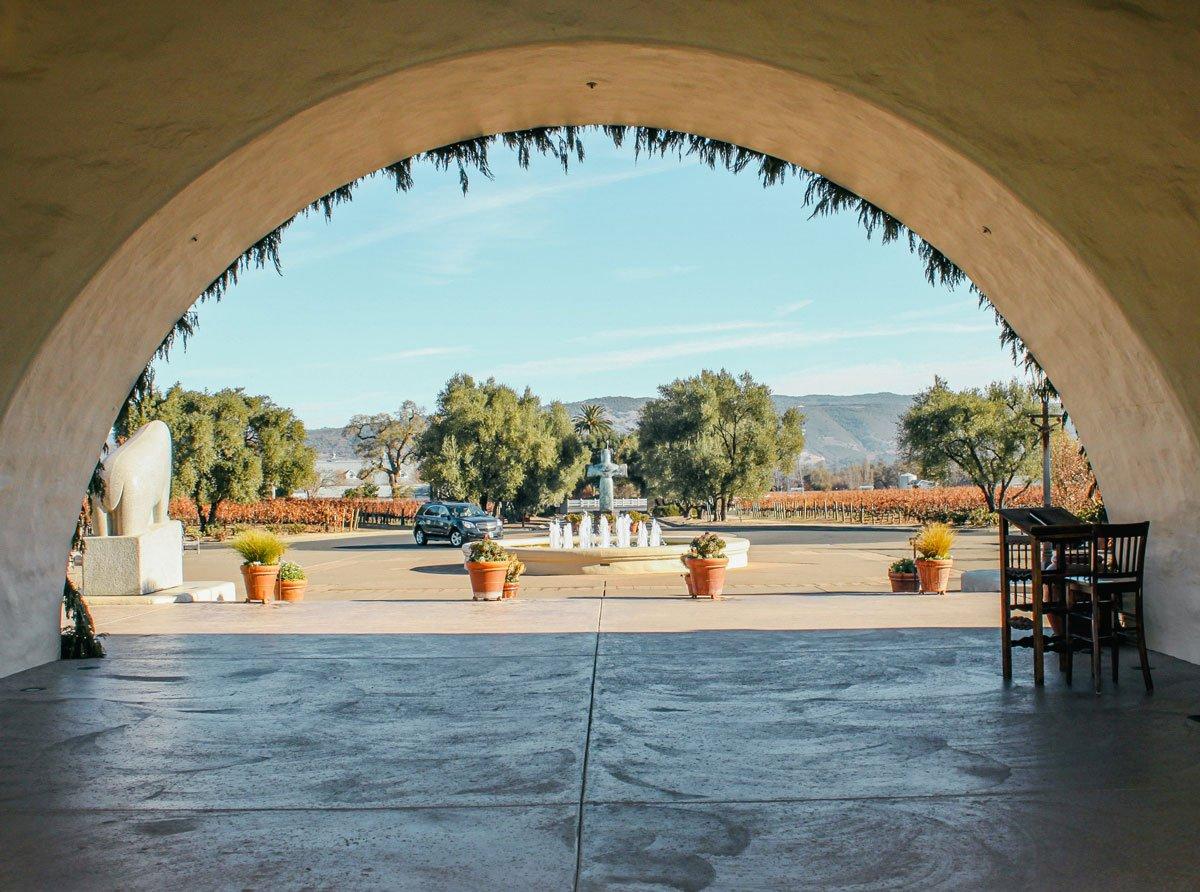 Robert Mondavi winery grounds