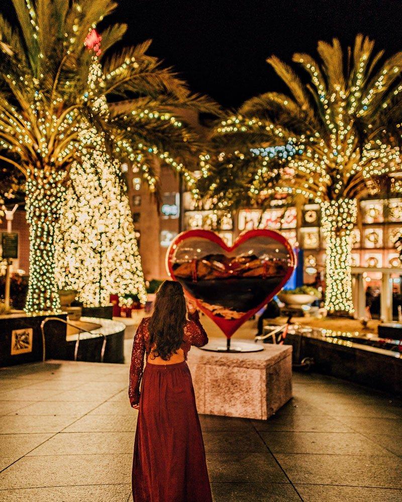 Union Square Christmas decor