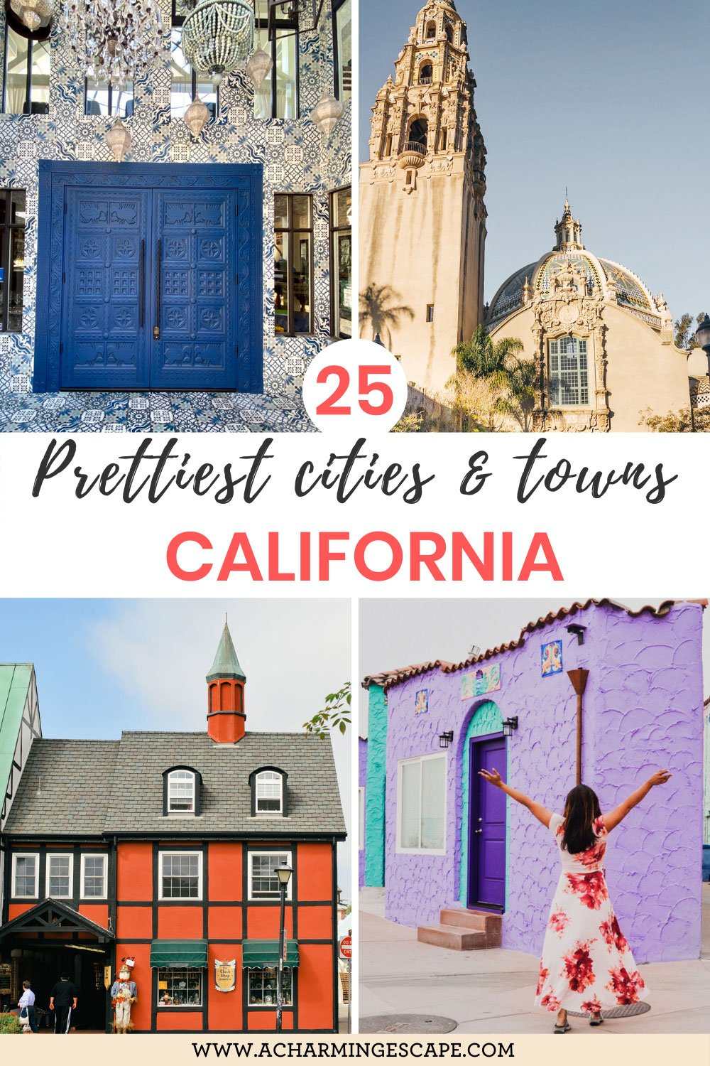 25 Prettiest cities and towns in California