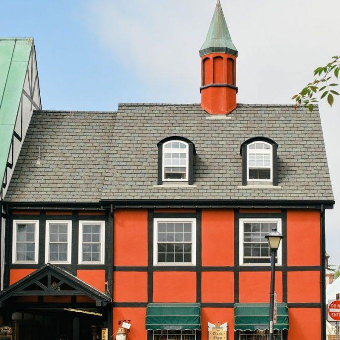 Danish style building, Solvang