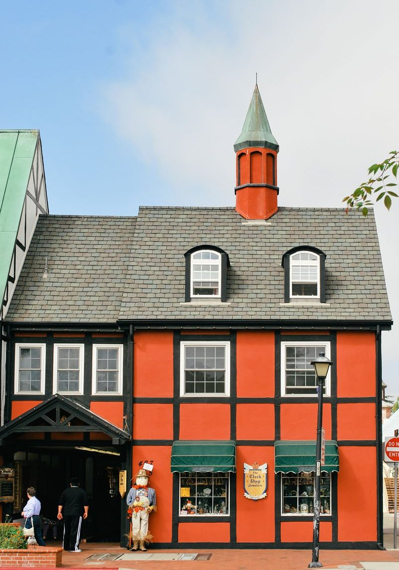 Danish style building, Solvang